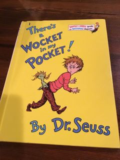 Dr. Seuss - There s a Wocket in My Pocket hardcover