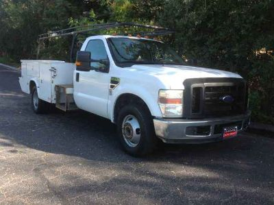 Used 2008 Ford F350 Super Duty Regular Cab & Chassis for sale