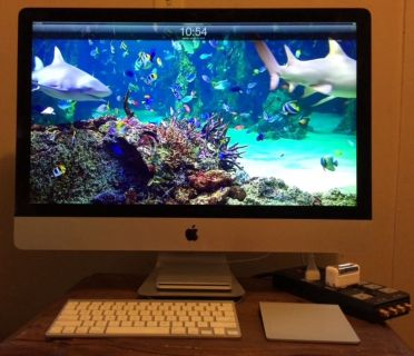 "iMac 27"" includes several items"