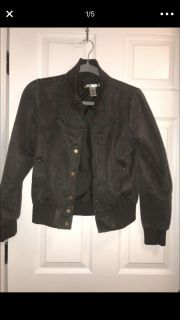 Charlotte Russe Bomber Jacket - Size Small