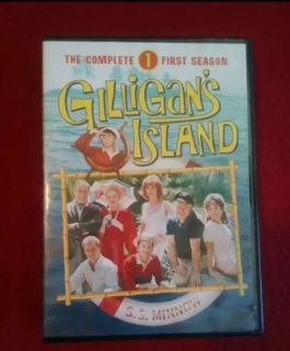 Complete 1st season of Gilligan's island on DVD