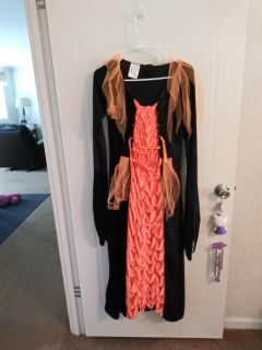 Witch costume dress size large