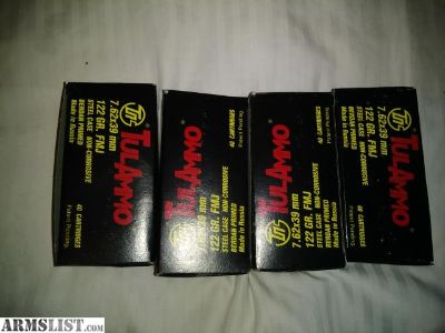 For Sale: 762x39 ammo