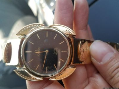 OMEGA WATCH WITH 116 gr 22CT SOLID GOLD BEND from AMERICAN EGALE