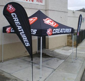 Create Brand Awareness in Market by Promoting with Vendor Tents