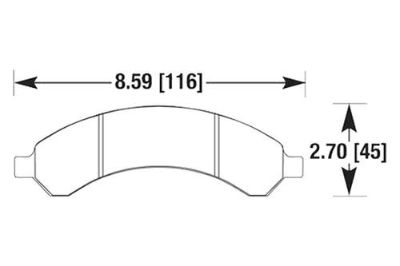 Find HAWK HB591P.760 - 03-05 Chevy Express Rear Brake Pads Ferro-Carbon motorcycle in Chino, California, US, for US $100.67