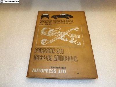 Porsche 911 1964-69 Autobook