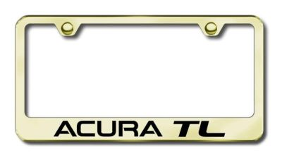 Purchase Acura TL Engraved Gold License Plate Frame -metal LF.ATL.EG Made in USA Genuine motorcycle in San Tan Valley, Arizona, US, for US $39.75