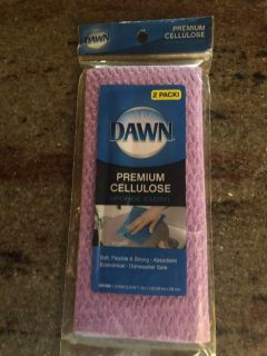 Dawn brand cleaning rags