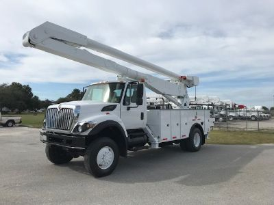 2009 International 7300 Tool Body (White)