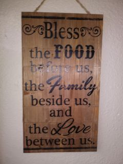 """Wood quote sign 18"""" h 10 """"w"""