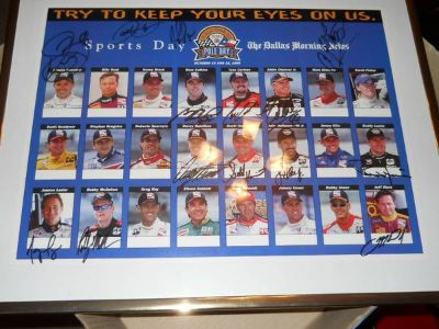 IRL Drivers Poster 1999