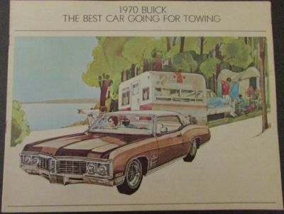 Purchase 1970 Buick Towing Sale Brochure Skylark Wagon GS LeSabre Wildcat Electra Riviera motorcycle in Holts Summit, Missouri, United States, for US $9.99