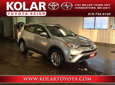 2018 Toyota RAV4 Limited (Silver Sky Metallic)