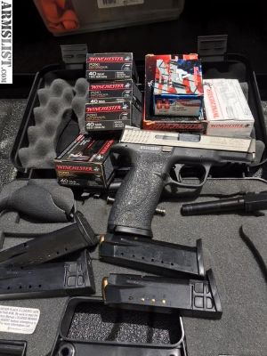 For Sale/Trade: S&W M&P Triple Threat w/ammo