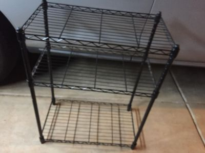 Adjustable 3 Tier Wire Shelving