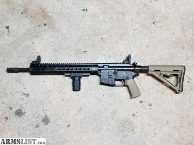 For Sale: preban essential arms ar15 with troy upper