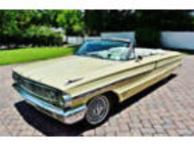 1964 Ford Galaxie 500 Convertible 390, 4 Speed Restored 1964 Galaxie 500
