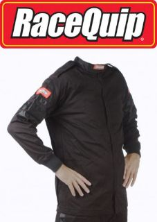 Purchase RaceQuip 111007 XX-Large Black Racing Driving Jacket Series 111 Two Piece Suit motorcycle in Story City, Iowa, United States, for US $69.95