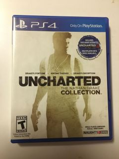 Uncharted PS4 (Drake Collection) 3 Games in 1 - PlayStation