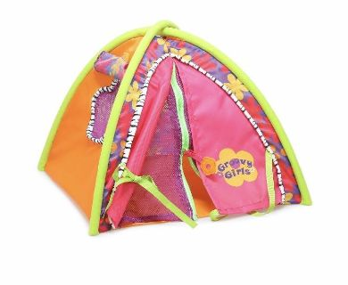 New realistic play doll tent