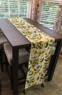 New floral table runner 108 X14