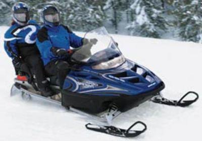 2003 Polaris 600 Classic Touring Trail/Touring Snowmobiles Hillman, MI