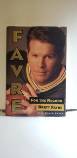 """Favre """" For The Record """" Hardcover Book by Chris Havel ( 1997 )"""