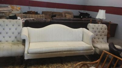 Fomal living room set sofa and 2 chairs delivery available