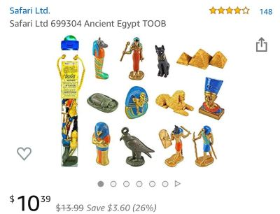 Ancient Egypt TOOB - toy figurines