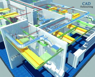 Building Information Modeling Services - CAD Outsourcing