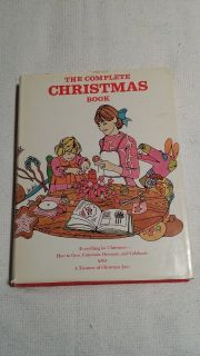 The Complete Christmas Book - VINTAGE