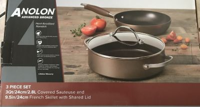 ANOLON 3 pieces pots set