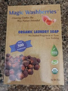 Organic laundry soap. Regular and HE. Over 300 loads.