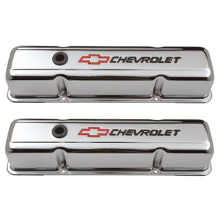 Buy GM 141-905 Bowtie SB Chevy Chrome Valve Covers, Tall motorcycle in Suitland, Maryland, US, for US $76.83