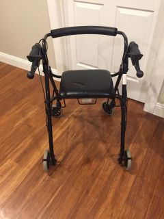 Medline Walker with seat (barely ever used)