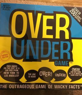 New Over Under game