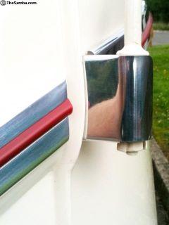 VW Split window bus deluxe hinge covers trim