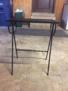 Rod Iron Side Table