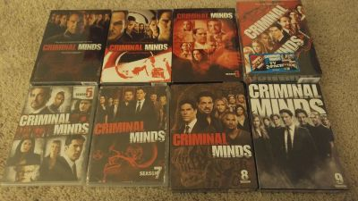 NEW in package CRIMINAL MINDS Several Seasons DVDs