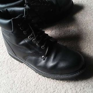 Men's Five Star work boots (hit right above the ankle bone/height)/SIZE 13