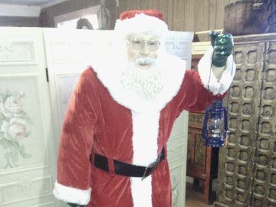 Life Size Santa Clause Statues For Sale