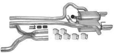 Purchase Dynomax 39434 Cat-Back Exhaust System motorcycle in Delaware, Ohio, US, for US $375.99