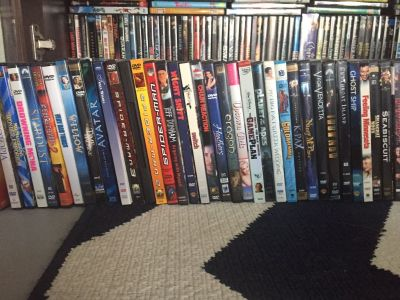 165 DVDs Collection
