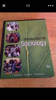 Introduction to sociology textbook