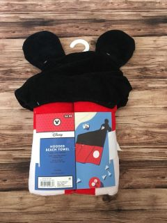 Mickey Mouse hooded beach towel