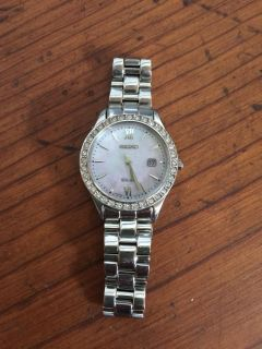 SEIKO Mother of Pearl Watch