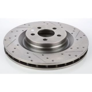 Sell JEGS Performance Products 632211 HP Drilled & Slotted Brake Rotor motorcycle in Delaware, Ohio, United States, for US $59.99