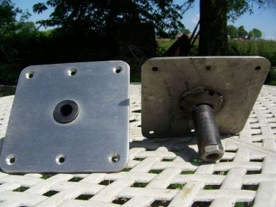 Purchase You are bidding on two Swivl-Eze SP-67739-T 7 X7 SS BASE PLATES THREADED motorcycle in Conway, Missouri, United States