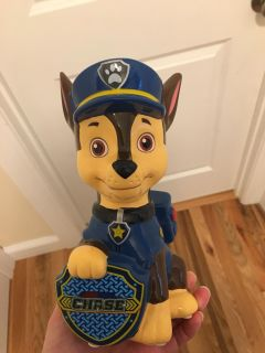 Paw Patrol Chase Money & Coin Bank. Excellent Condition.